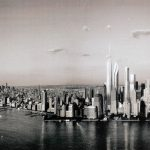 Canvas 50×100 new york view