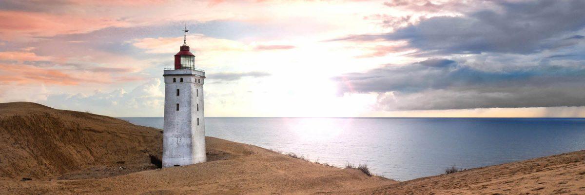 Canvas 50×150 lighthouse