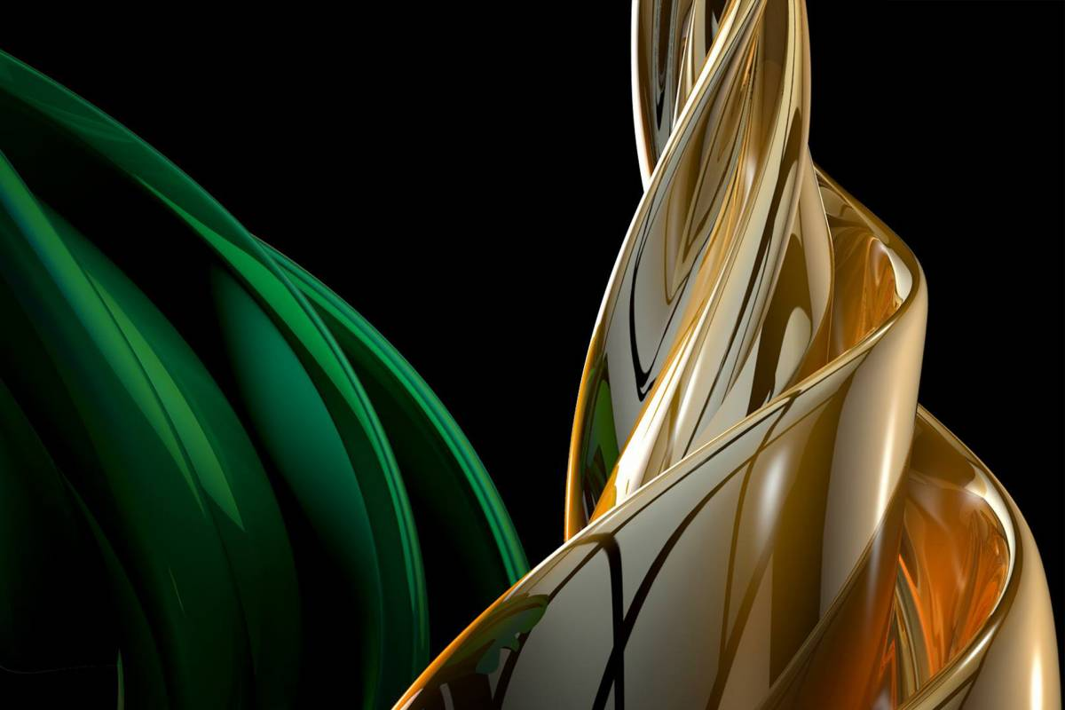 Glossy/rt04 100×150 green wave