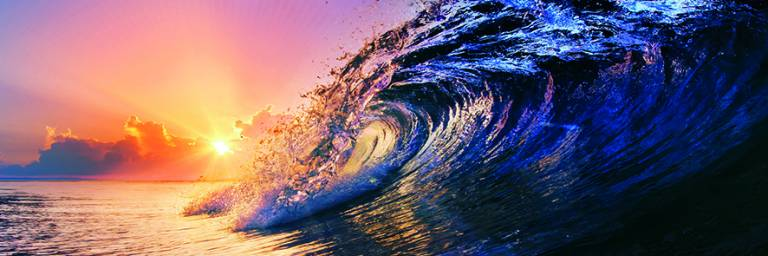 Canvas 0258 50×150 wave