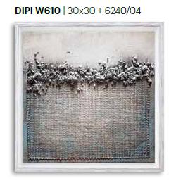 Dipinto art. w610 30×30