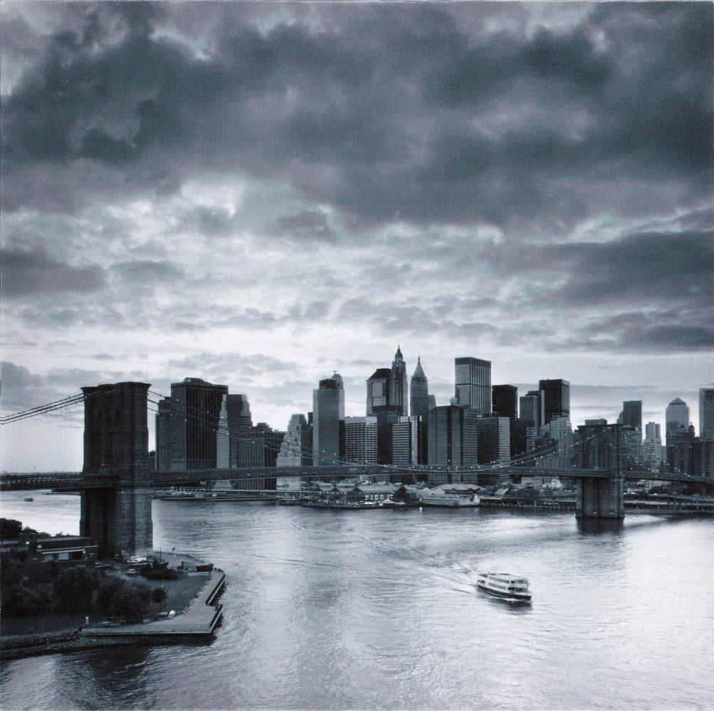 Canvas 40×40 new york 2