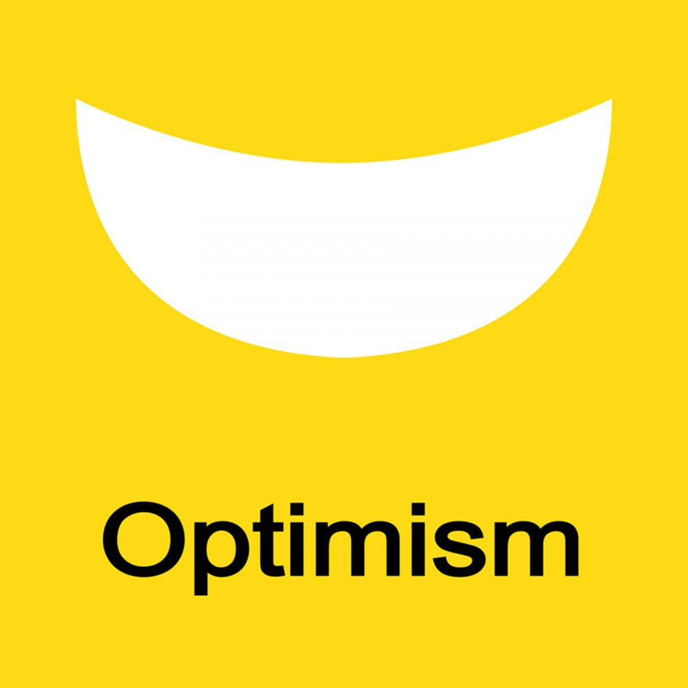 Canvas 40×40 optimism
