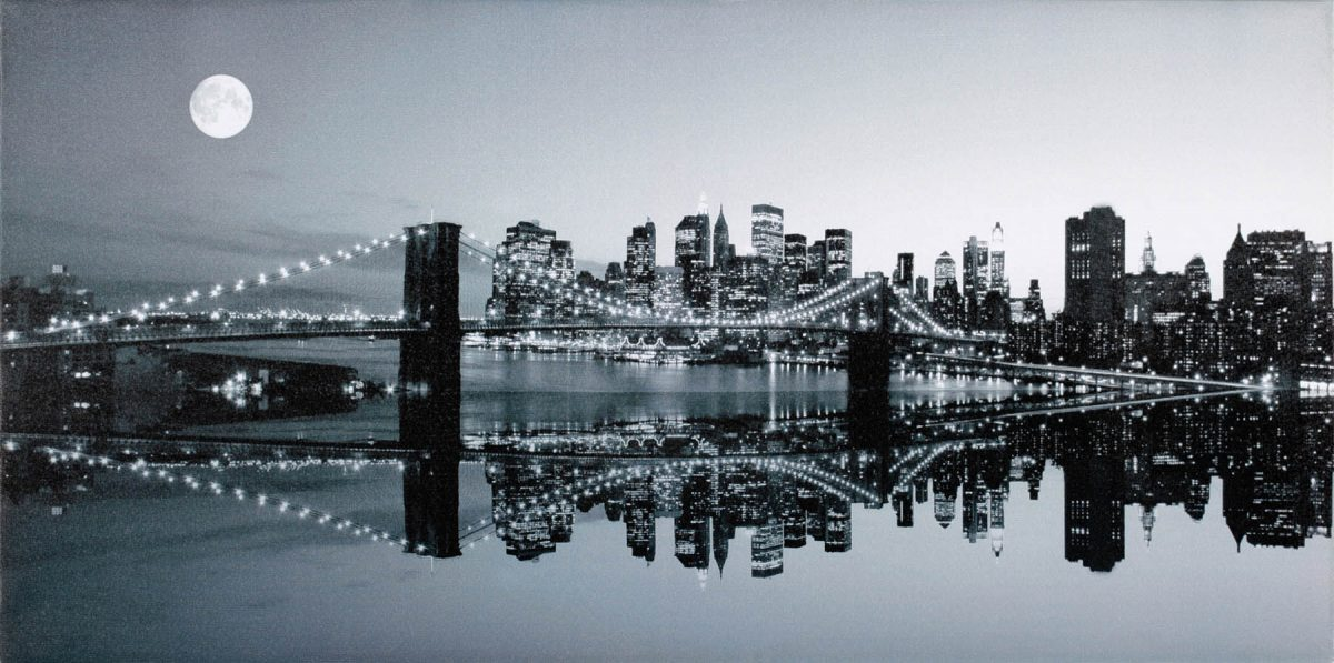 Canvas 50×100 new york view 2