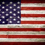 Canvas 50×100 vintage us flag