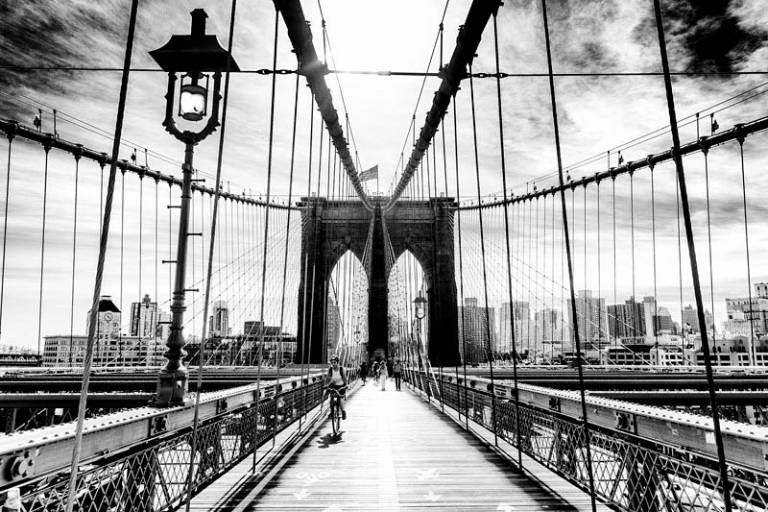Glossy/gz09 100×150 brooklyn bridge