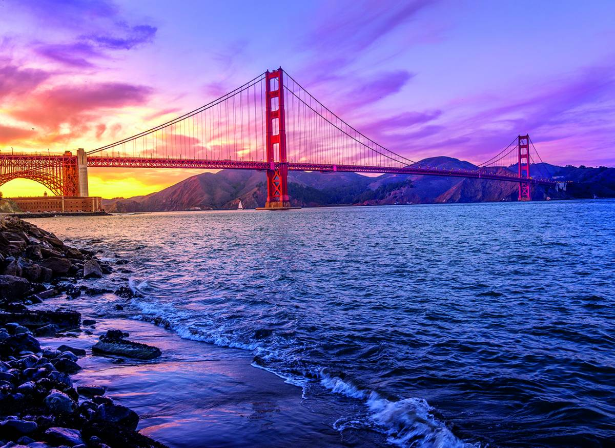 Canvas 0278 80×110 golden gate
