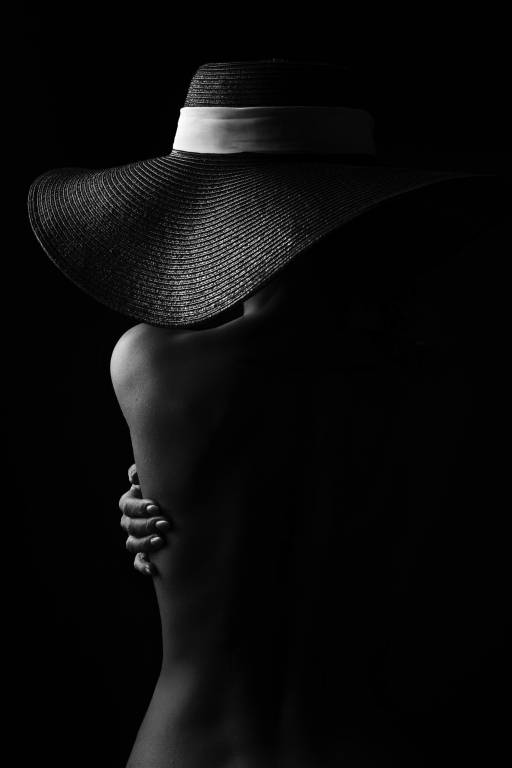 Glossy/mm19 100×150 black hat