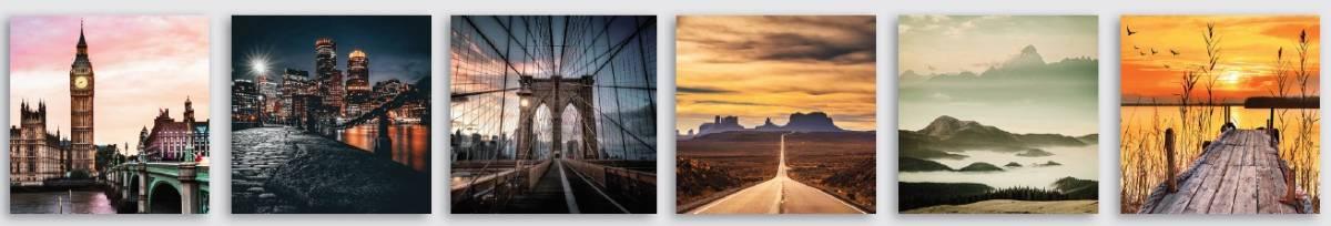 Canvas mixn 6  25×25 paesaggi