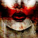 Glossy/ad01 100×100 red kiss